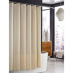 Trump Home Parc East Ivory Bricks Shower Curtain