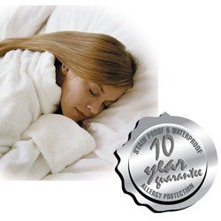 Tuffguard Breathable Waterproof Pillow Protectors (Set of 2)