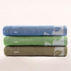 Turkish Cotton Printed Bath Towels (Set of 2)