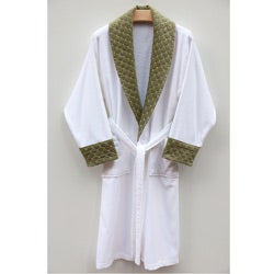 Ultra Plush Authentic Hotel and Spa Unisex Green Bath Robe