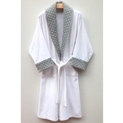 Ultra Plush Authentic Hotel and Spa Unisex  Grey Bathrobe