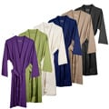Unisex Organic Combed Cotton Interlock Jersey Bathrobe