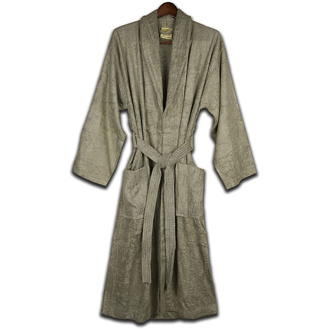 Unisex Sage Rayon from Bamboo Bath Robe