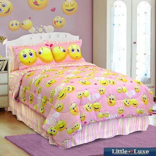 Veratex Emoji 4-piece Comforter Set