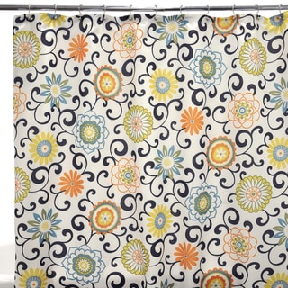 Waverly Pom Pom Play Confetti Shower Curtain