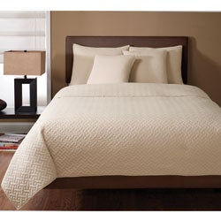 Wexford Sandalwood 3-piece Quilt Set