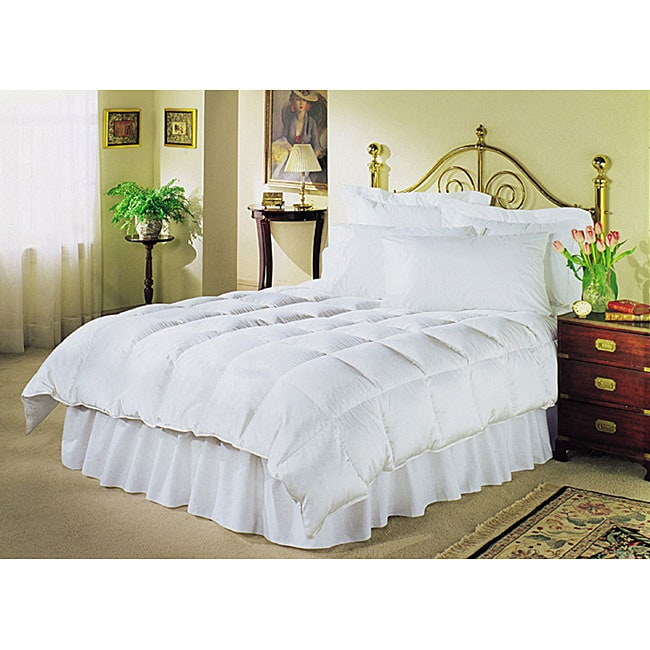 White 230 thread count down alternative comforter for Hotel design 800 thread count comforter