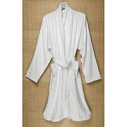 White Rayon from Bamboo Bathrobe