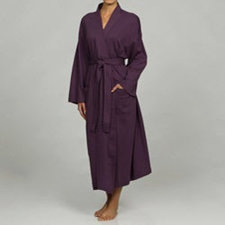 Women's Purple Organic Cotton Bathrobe
