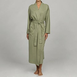 Women's Sage Organic Cotton Bathrobe