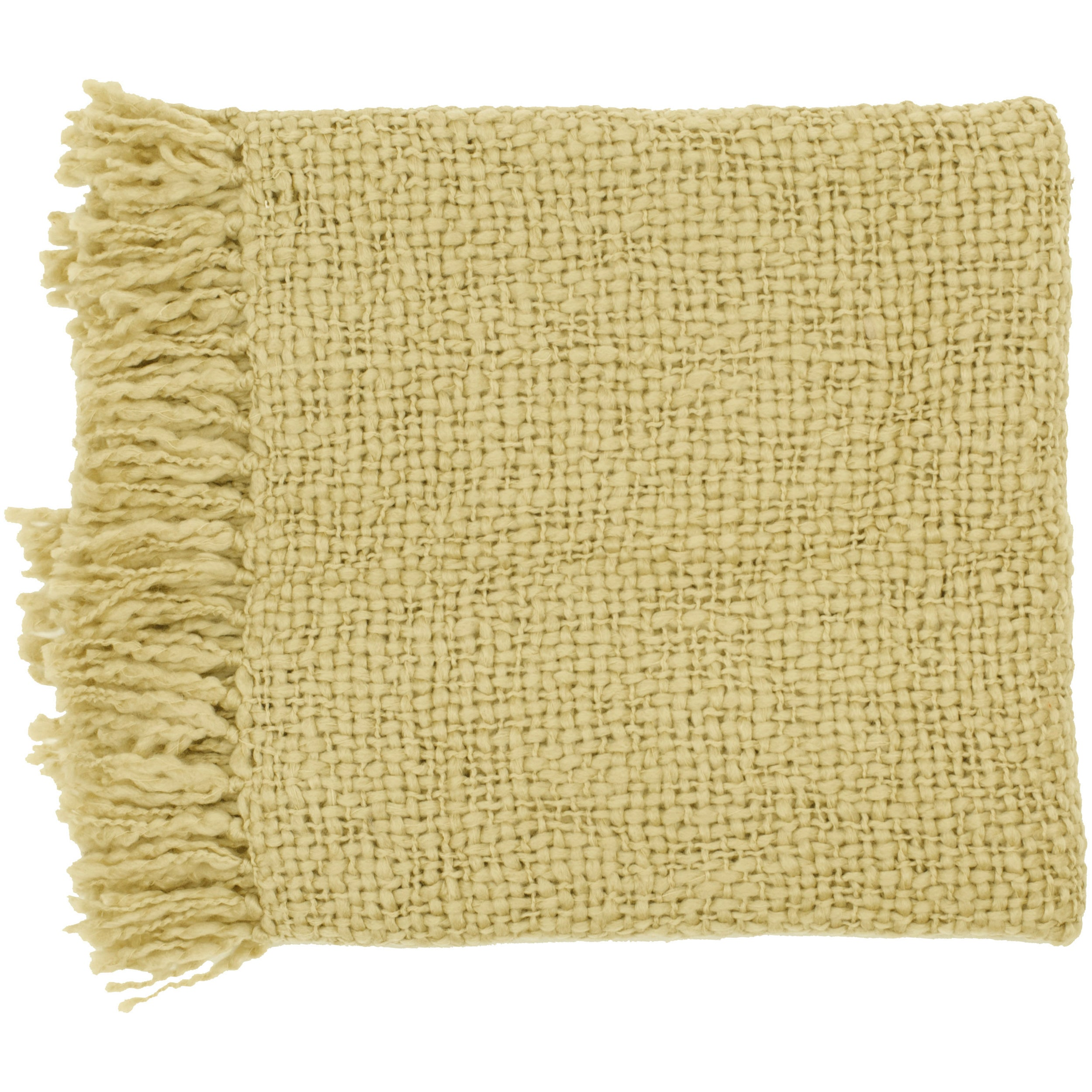 Woven Arbor Acrylic and Wool Throw Blanket