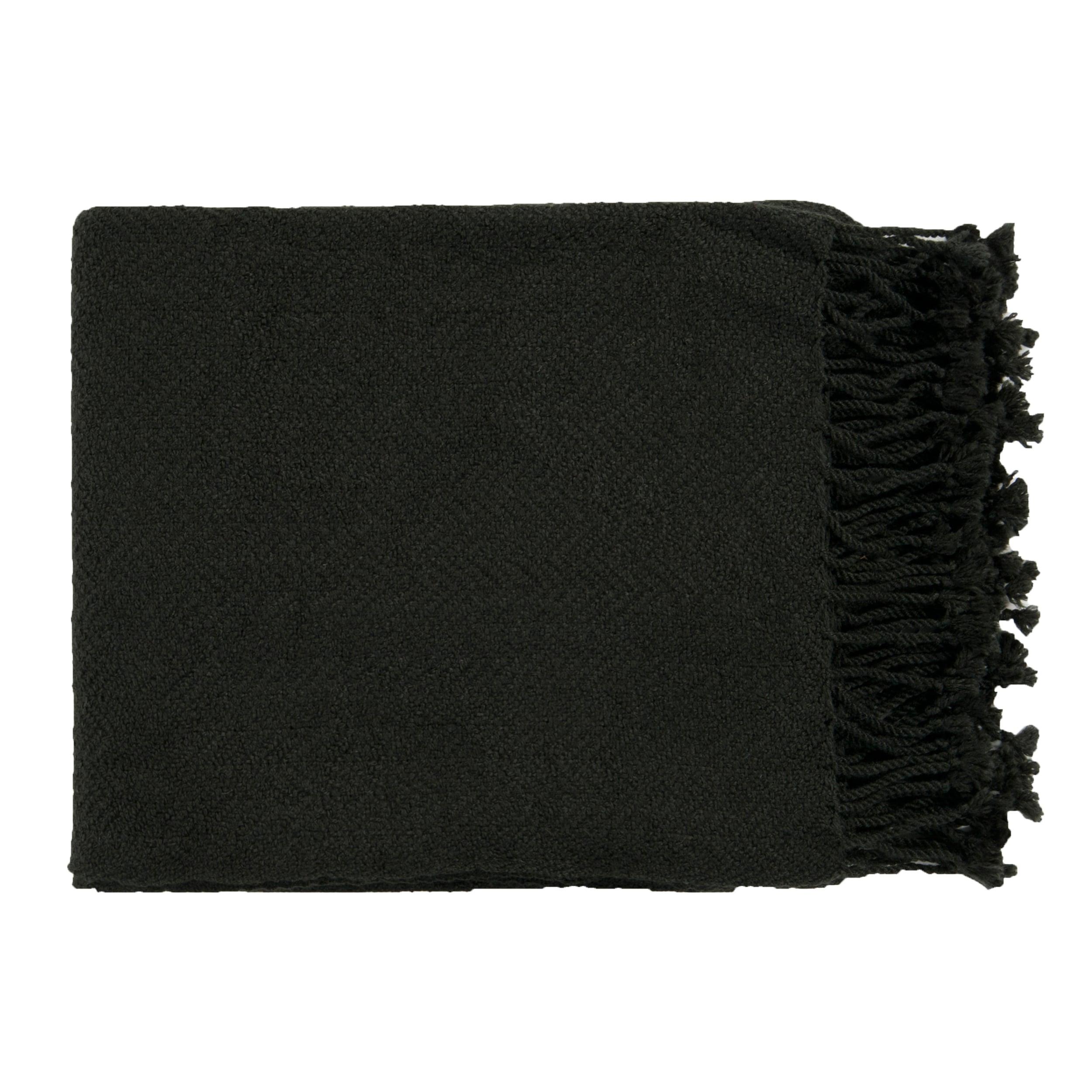 Woven Komondor Acrylic Throw Blanket (50 x 60)