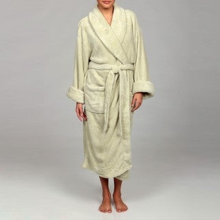 Woven Workz Unisex Boston Microfiber Willow Bath Robe
