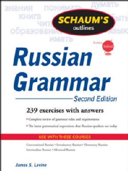 Schaum's Outlines of Russian Grammar (Paperback)