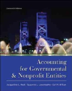 Accounting for Governmental & Nonprofit Entities (Hardcover)