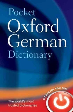 Pocket Oxford German Dictionary: German - English English - German (Paperback)