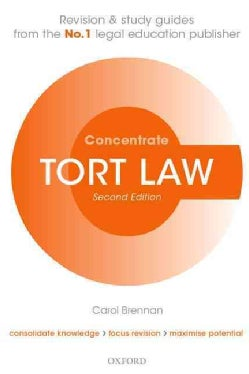 Tort Law Concentrate (Paperback)