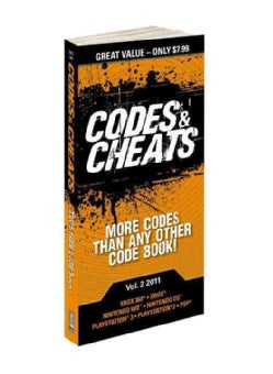 Codes & Cheats 2011 (Paperback)