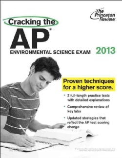 Cracking the AP Environmental Science Exam 2013 (Paperback)