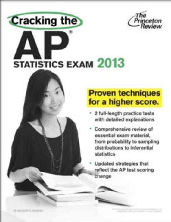 Cracking the AP Statistics Exam 2013 (Paperback)