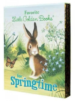 Favorite Little Golden Books for Springtime (Hardcover)