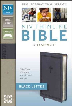 Holy Bible: New International Version, Slate Blue, Italian Duo-Tone, Thinline (Paperback)