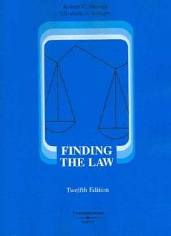 Finding the Law (Paperback)