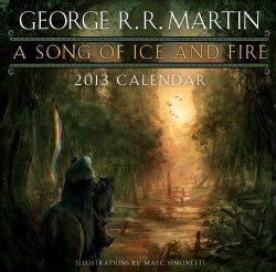 A Song of Ice and Fire 2013 Calendar(Calendar)