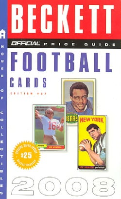 Official Beckett Price Guide to Football Cards 2008