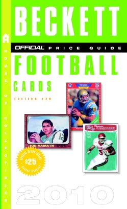 Price Guide to Football Cards 2010 (Paperback)