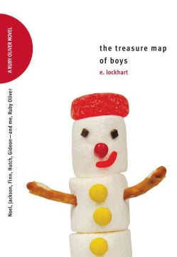 The Treasure Map of Boys: Noel, Jackson, Finn, Hutch, Gideon--and Me, Ruby Oliver (Hardcover)