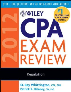 Wiley Cpa Exam Review 2012, Regulation (Paperback)