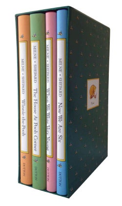 Pooh's Library: Winnie-The-Pooh, the House at Pooh Corner, When We Were Very Young, Now We Are Six (Hardcover)