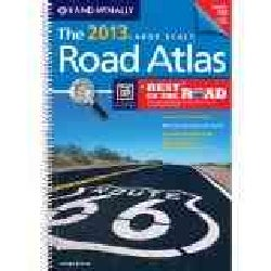 Rand McNally 2013 Large Scale Road Atlas: United States (Spiral bound)