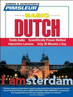 Pimsleur Basic Dutch (CD-Audio)