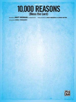 10,000 Reasons (Bless the Lord): Easy Piano, Sheet (Paperback)