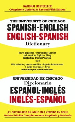 The University of Chicago Spanish Dictionary: Spanish-english, English-spanish (Paperback)