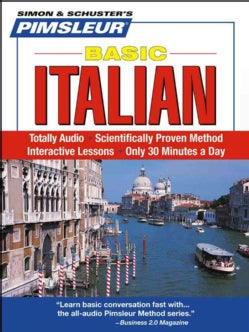 Pimsleur Basic Italian (CD-Audio)