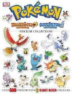 Pokemon HeartGold Version / SoulSilver Version Sticker Collection (Paperback)
