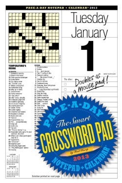 The Smart Crossword 2013 Calendar (Calendar)