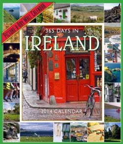 365 Days in Ireland 2014 Calendar (Calendar)