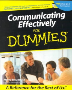 Communicating Effectively for Dummies (Paperback)