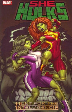 She-hulks 1: Hunt for the Intelligencia (Paperback)