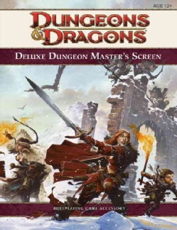 Deluxe Dungeon Master's Screen (Hardcover)