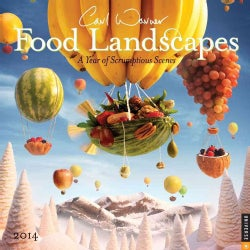 Food Landscapes 2014 Calendar: A Year of Scrumptious Scenes (Calendar)