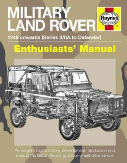 Haynes Military Land Rover Enthusiasts' Manual: 1947-2012 (Series I-III, Defender, Wolf, 'Lightweight', 101in For... (Hardcover)