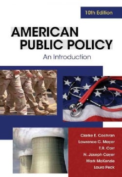 American Public Policy: An Introduction (Paperback)