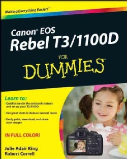 Canon EOS Rebel T3 / 1100D For Dummies (Paperback)