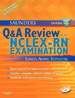 Saunders Q & A for the NCLEX-RN Examination (Mixed media product)