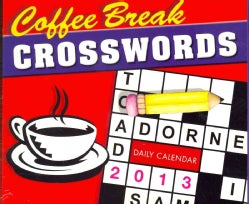 Coffee Break Crossword 2013 Calendar (Calendar)